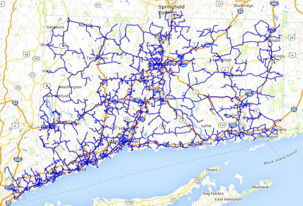 CEN fiber map
